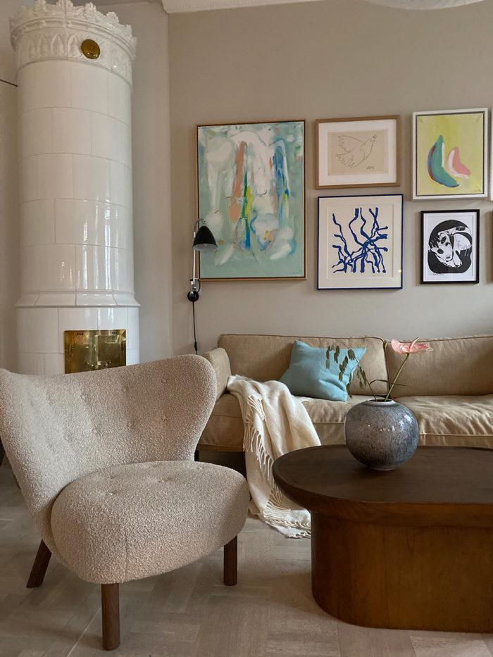 Rikkes room sofabord, by bjørkheim, sofabord, stuebord, mørkt tre