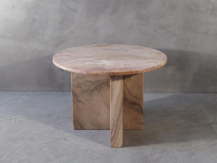 Marmorbord, sofabord, sidebord, marmor, heltre