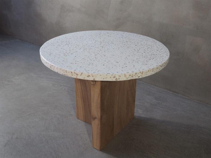 Terrazzo bord, sofabord, sidebord, rotting